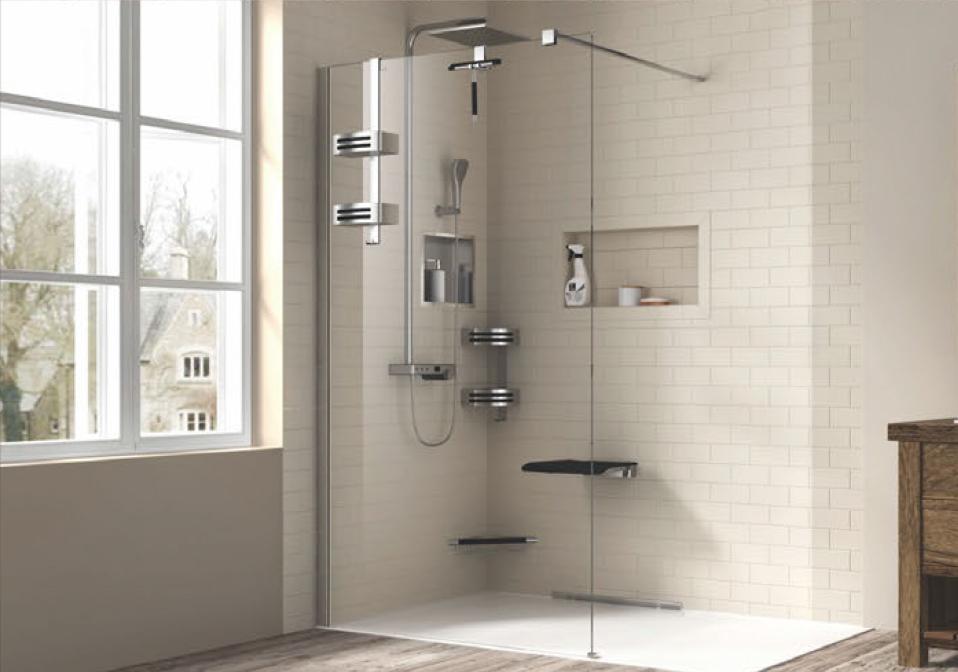 Accessoires pour douche zitta - Porte douche italienne ...